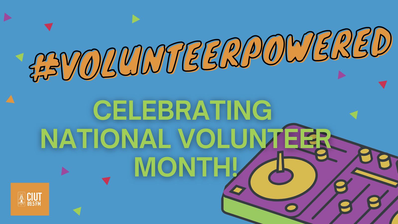 #volunteerpowered